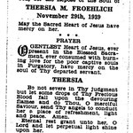 Froehlich, Theresa M. - 1939