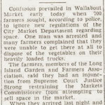 Brooklyn Eagle - 700 Farmers Seek 279 Market Posts in Wallabout Market - Feb. 8, 1930