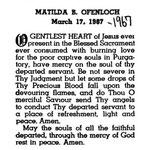 Ofenloch, Matilda B. - 1967