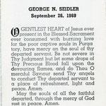 Seidler, George - 1969