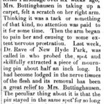 Hempstead Sentinel - Mrs. Buttinghausen - March 22, 1900