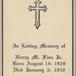 Finn, Henry M. - 1940