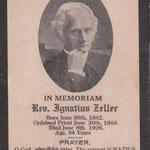 Zeller, Ignatius, Rev. - 1926