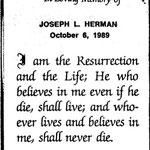 Herman, Joseph L. - 1989