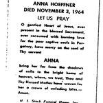Hoeffner, Anna - 1964