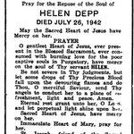 Depp, Helen - 1942