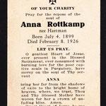 Rottkamp, Anna - 1926