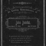 Jacobs, John - 1889