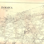 1873 Beers Map - Jamaica, Queens