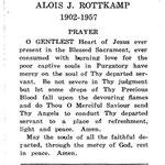 Rottkamp, Alois J. - 1957