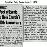 Brooklyn Daily Eagle - St. Boniface 100th Year - June 1, 1952