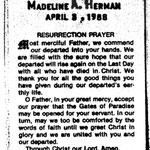 Herman, Madeline A. - 1988