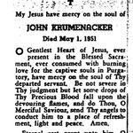 Krumenacker, John - 1951