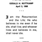 Rottkamp, Gerald H. - 1986