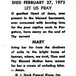 Braun, Mary - 1972