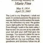 Finn, Marie - 2003