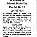 Makofske, Edward - 1947