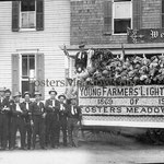 Young Farmers Light Guard in front of the Herman Hotel - 1913