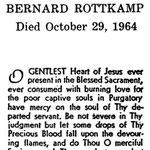 Rottkamp, Bernard - 1964