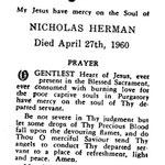 Herman, Nicholas - 1960