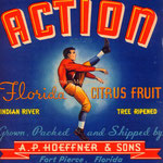 Anton Philip (AP) Hoeffner Citrus Fruit Crate Label