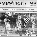 Hempstead Sentinel Happy 4th of July - July 4, 1912