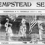 Hempstead Sentinel Happy 4th of July - July 4, 1912