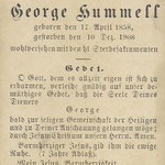 Hummell, George - 1908