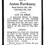 Rottkamp, Anton - 1930