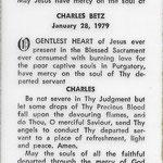 Betz, Charles - 1979