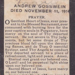 Gosswein, Andrew - 1914