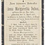 Dubon, Anna Margarethe - 1907