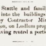 Hempstead Sentinel - George Stattel - Feb. 1, 1900