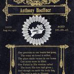 Hoeffner, Anthony  1901