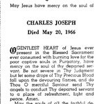Joseph, Charles - 1966