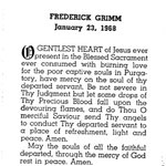 Grimm, Frederick -1968
