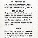 Krummenacker, John - 1959