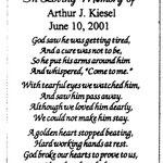 Kiesel, Arthur, J. - 2001