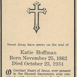 Hoffman, Katie - 1934