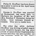 Hempstead Sentinel - Hoeffner News - April 3, 1913