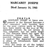 Joseph, Margaret - 1963