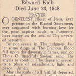 Kalb, Edward - 1948