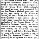 Queens County Sentinel - Lutheran St. Paul's Church - April 7, 1864