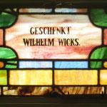 Geschenkt Wilhelm Wicks