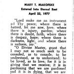 Makofske, Mary T. - 1977