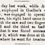 Hempstead Sentinel - Andrew Christ Wagon Factory Accident - Sept. 14, 1899
