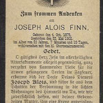Finn, Joseph Alois - 1902