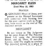 Klein, Margaret - 1963