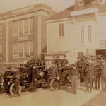 Belmont Hook and Ladder Co. Elmont Rd. - Elmont - October 11, 1924