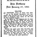 Rottkamp, John - 1941